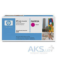 Картридж HP 124A для CLJ 1600/2600 (Q6003A) Magenta