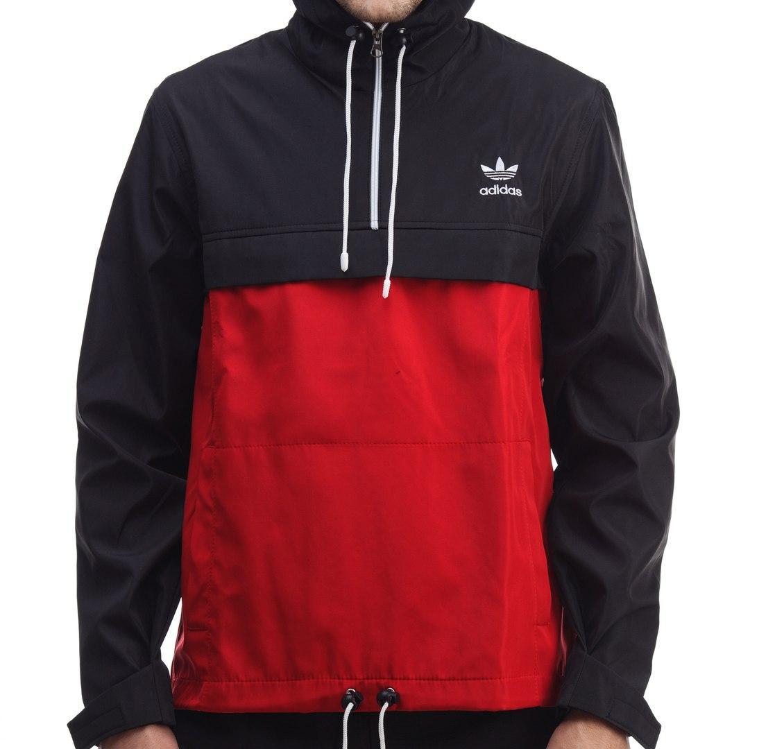 Мужской анорак Adidas, куртка мужская