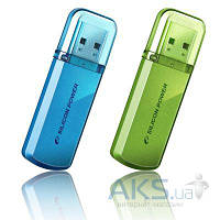 Флешка USB Silicon Power Helios 101 16Gb (SP016GBUF2101V1N) green