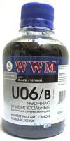 Чернила WWM Чернило WWM HP/Lexmark/Canon/Xerox (200ml) Black