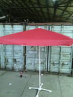 Зонт торговый квадратный 2х2