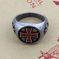 Кольцо перстень тамплиеров!, фото 1