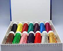 Краски акриловые для китайской росписи 16 цветов 22мл. (на силиконовой