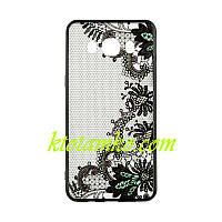 Чехол Rock Tatoo Art Case for Samsung A320 (A3-2017) Color Flowers
