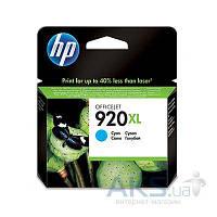 Картридж HP DJ No. 920 XL для OJ 6500 (CD972AE) cyan