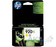 Картридж HP DJ No. 920 XL для OJ 6500 (CD974AE) yellow