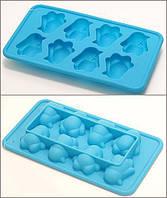 Оригинальная форма для заморозки льда Пингвины