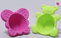 Формы для выпечки кексов набор из 2 шт