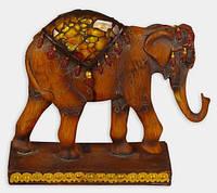 Декоративная фигурка полистоун Слон