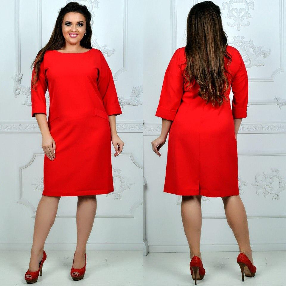 Платье модель 792 , красный