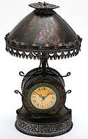 Часы интерьерные настольные Лампа