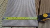 Террасная доска 20х195х5400 мм. из Гевеи