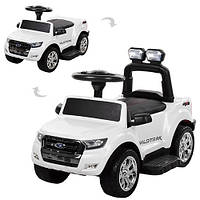 Детский электромобиль+каталка-толокар (2 в 1)