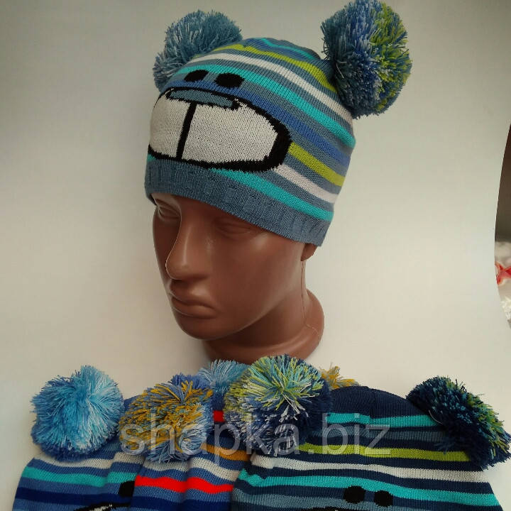 шапка детская вязаная однослойная продажа цена в хмельницком
