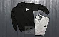 Мужские спортивные костюмы(штаны+олимпийка) Материал:хлопок 90% , эластан 10%  размеры: XS,S,M,L,XL,XXL