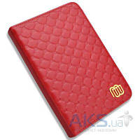 Обложка (чехол) MyBook Leather Cover Quilted Red with LED light for Kindle 4/5 Red