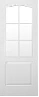 Двери межкомнатные Классика ПО без стекла с решёткой