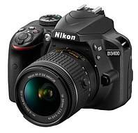 Цифровая фотокамера Nikon D3400 Kit 18-55 VR AF-P