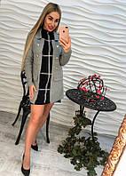 Женский кардиган машинной вязки
