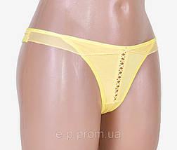 Женские стринги Х/Б (LV5124) | 12 шт., фото 2