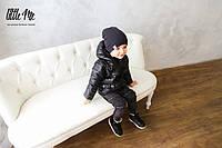 Демисезонная куртка на мальчика ( черная )