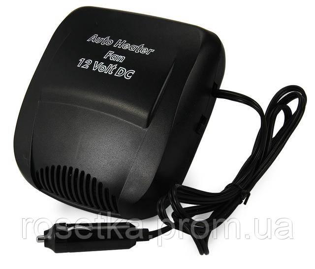 Компактний обігрівач-вентилятор для автомобіля Auto Fan Heater