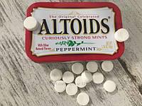 Мятные конфетки ALTOIDS peppermint для освежения дыхания, фото 1