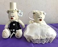 Мишки Тедди на машину свадебную