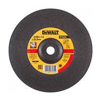 Круг шлифовальный по металлу Dewalt 230х6.0х22.2мм