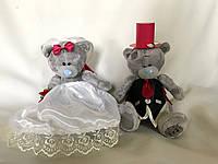 Мишки Тедди на свадебную машину
