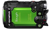 Цифровая фотокамера Olympus TG-Tracker Green (Waterproof - 30m; Wi-Fi; GPS)