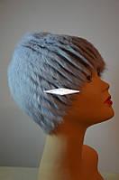 Шапка женская, парик на трикотажной основе.