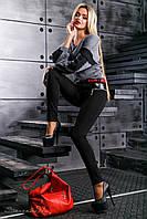 Модні спідниці - брюки з якісного турецького трикотажу 42-50 розміру, фото 1