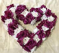 Украшение на свадебную машину Сердце