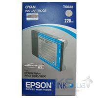 Картридж Epson St Pro 7800/ 7880/ 9800 (C13T603200) Cyan