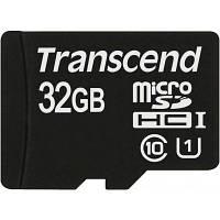 Карта памяти Transcend microSDHC 32GB Class 10 UHS-I Premium no ad