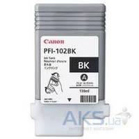 Картридж Canon PFI-102Bk iPF500/ 600/ 700 (0895B001) Black