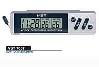 Автомобильные часы с датчиком температуры VST-7068