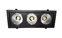 Светодиодный светильник 54Вт 6500K SC54CWK BL черный, фото 1