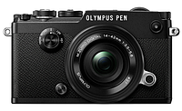 Цифровая фотокамера Olympus PEN-F Pancake Zoom 14-42 Kit Black/Black