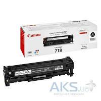 Картридж Canon 718 LBP-7200/MF-8330/8350 (2662B002) black