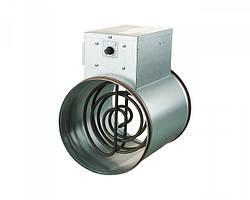 Круглые электрические нагреватели с блоком управления (Серия НК ... У)