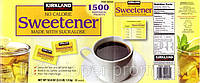 Сахарозаменитель сукралоза Спленда без калорий пакетированный Splenda Sweetener 1500 г