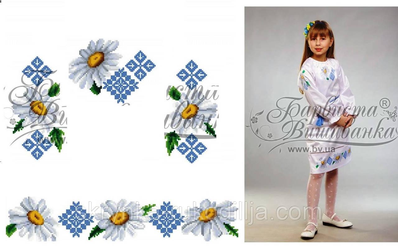 Заготовка для вишивання плаття дитячого (на 5-12 років) на НАТУРАЛЬНІЙ  тканині 285d677e052b6