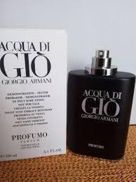 Тестер без крышечки Giorgio Armani Acqua di Gio Profumo( Джорджио Армани Аква Ди Джоя профумо)