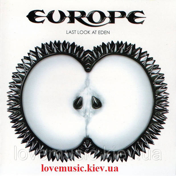 Музичний сд диск EUROPE Last look at eden (2009) (audio cd)