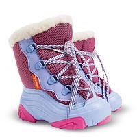Сапоги зимние детские Demar SNOW MAR-2 розово-голубые (20-29 р 5e3f8524eb31b