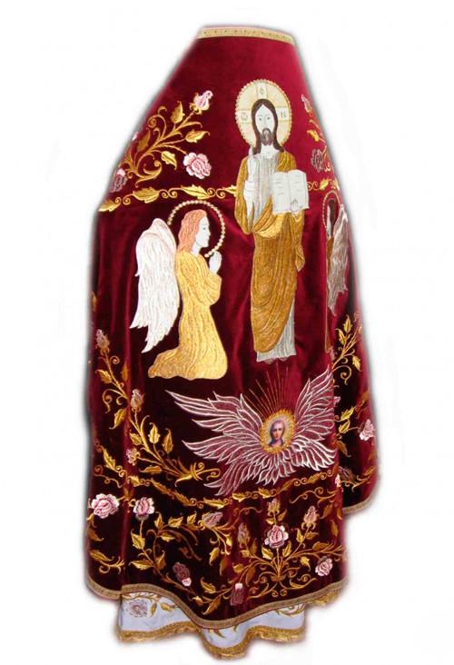 Церковное облачение священника с вышивкой