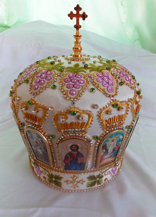 Высокий головной убор митрополита заказать