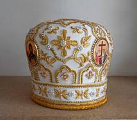 Митра - высокий головной убор священника